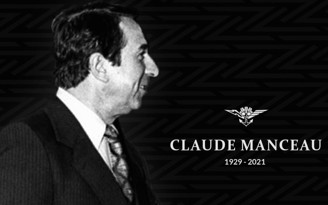 Ancien et ami fidèle de l'ECE Claude Manceau nous a quitté à l'âge de 92 ans.